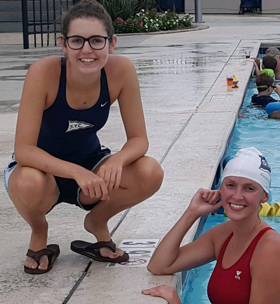 Megan and Lauren, Brooke's sisters